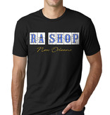 Ra Shop T-Shirt FQ Blue Tile 2XL