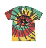 Ra Shop Tie Dye T-Shirt Rasta Web 2XL