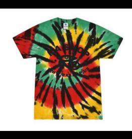 Ra Shop Tie Dye T-Shirt Rasta Web 2XL