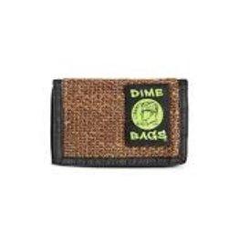 Dime Bags Wallet Brown