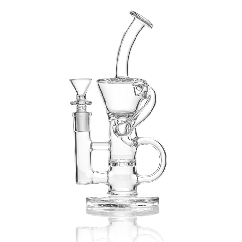 "GRAV 9"" Klein Sprocket Recycler Clear"