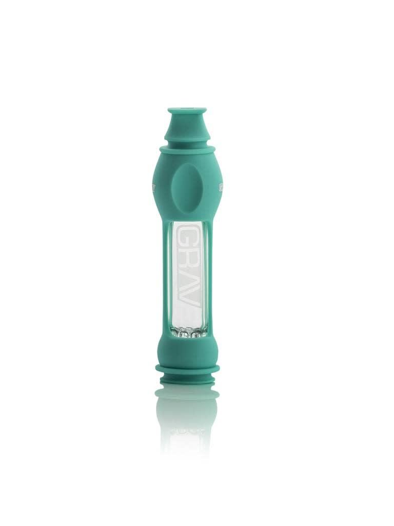 GRAV 16mm Octo-Taster w/ Silicone Skin Teal