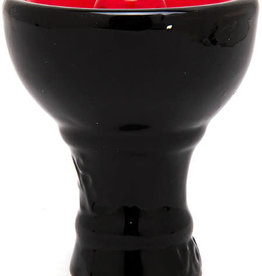 Sahara Vortex Hookah Bowl Black/Red