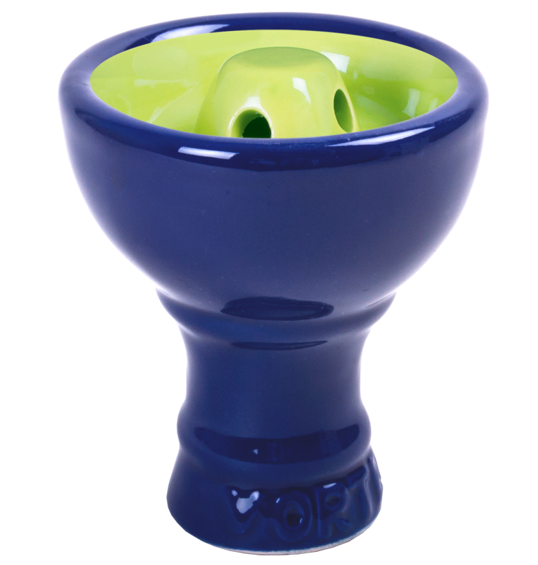 Sahara Vortex Hookah Bowl Blue/Green