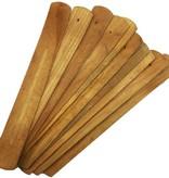Basic Wood Incense Holder Plain Natural