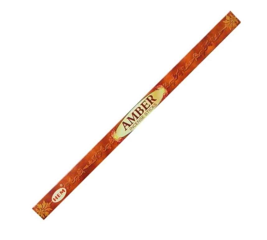 Hem 8g Incense Amber