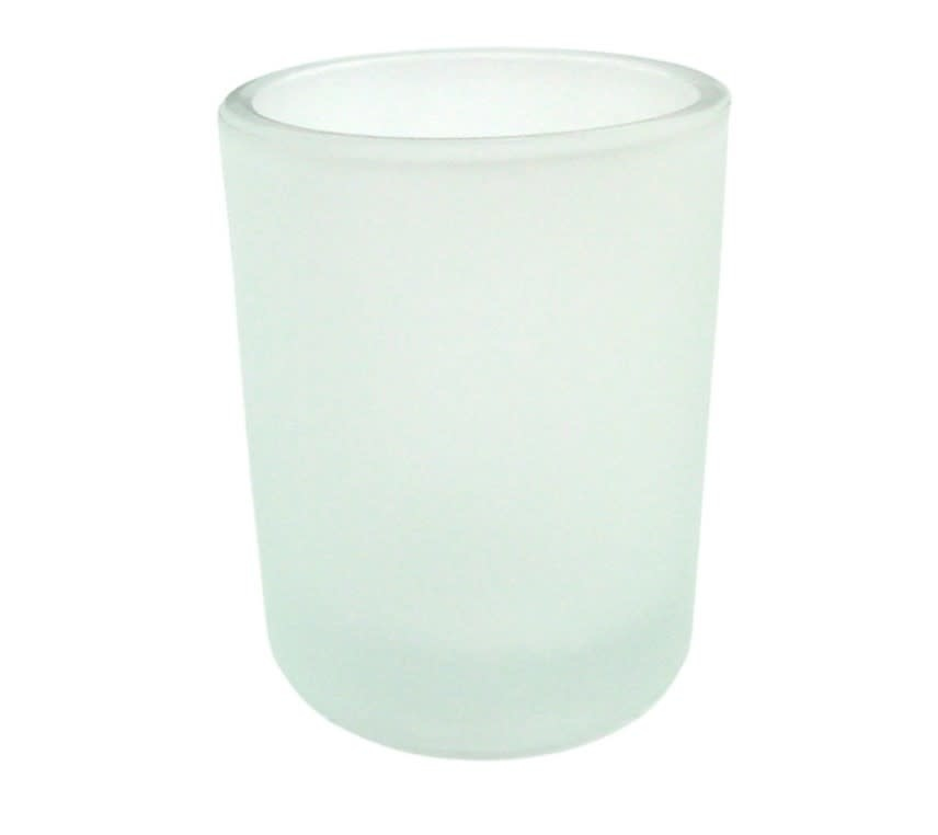 Votive Holder Frosted Glass