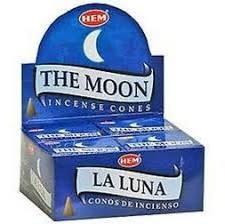 Hem 10pc Cones Moon