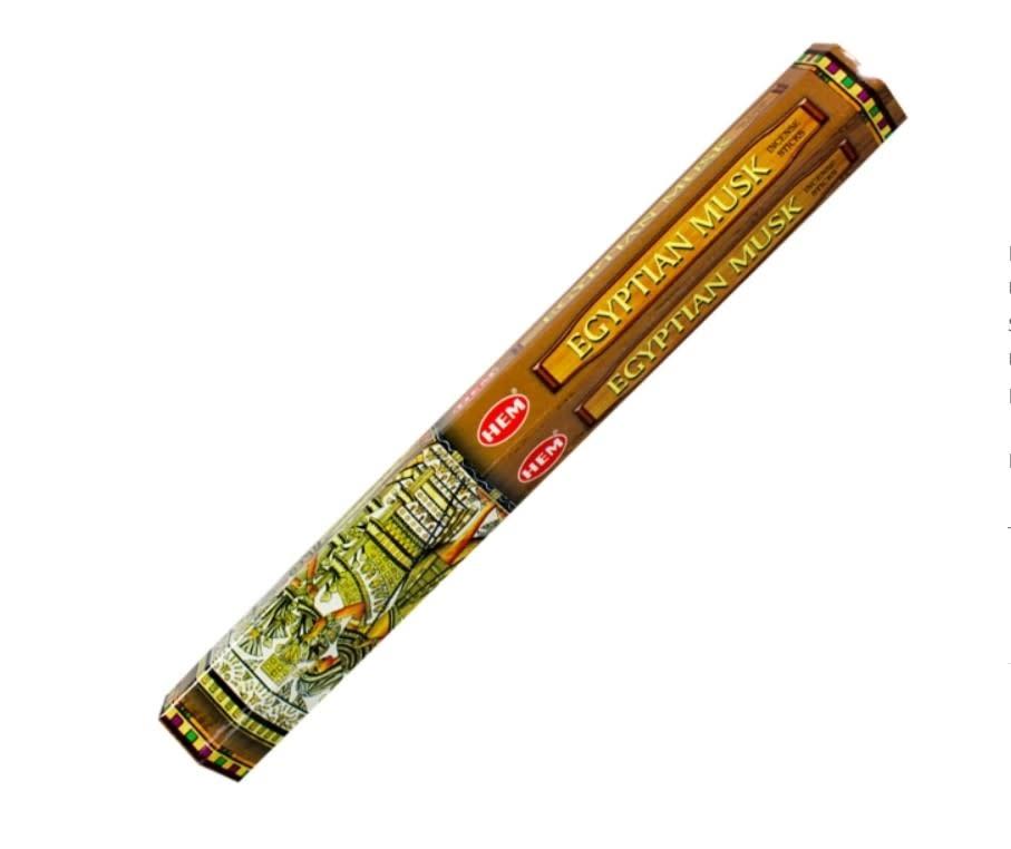 Hem 20g Incense Egyptian Musk