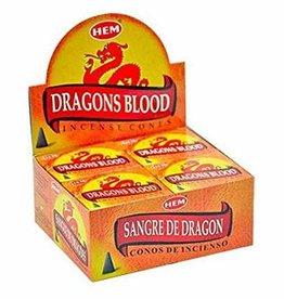 Hem 10pc Cones Dragons Blood