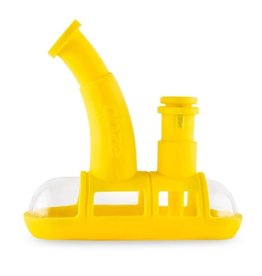 OOZE Steamboat Silicone Bubbler Yellow