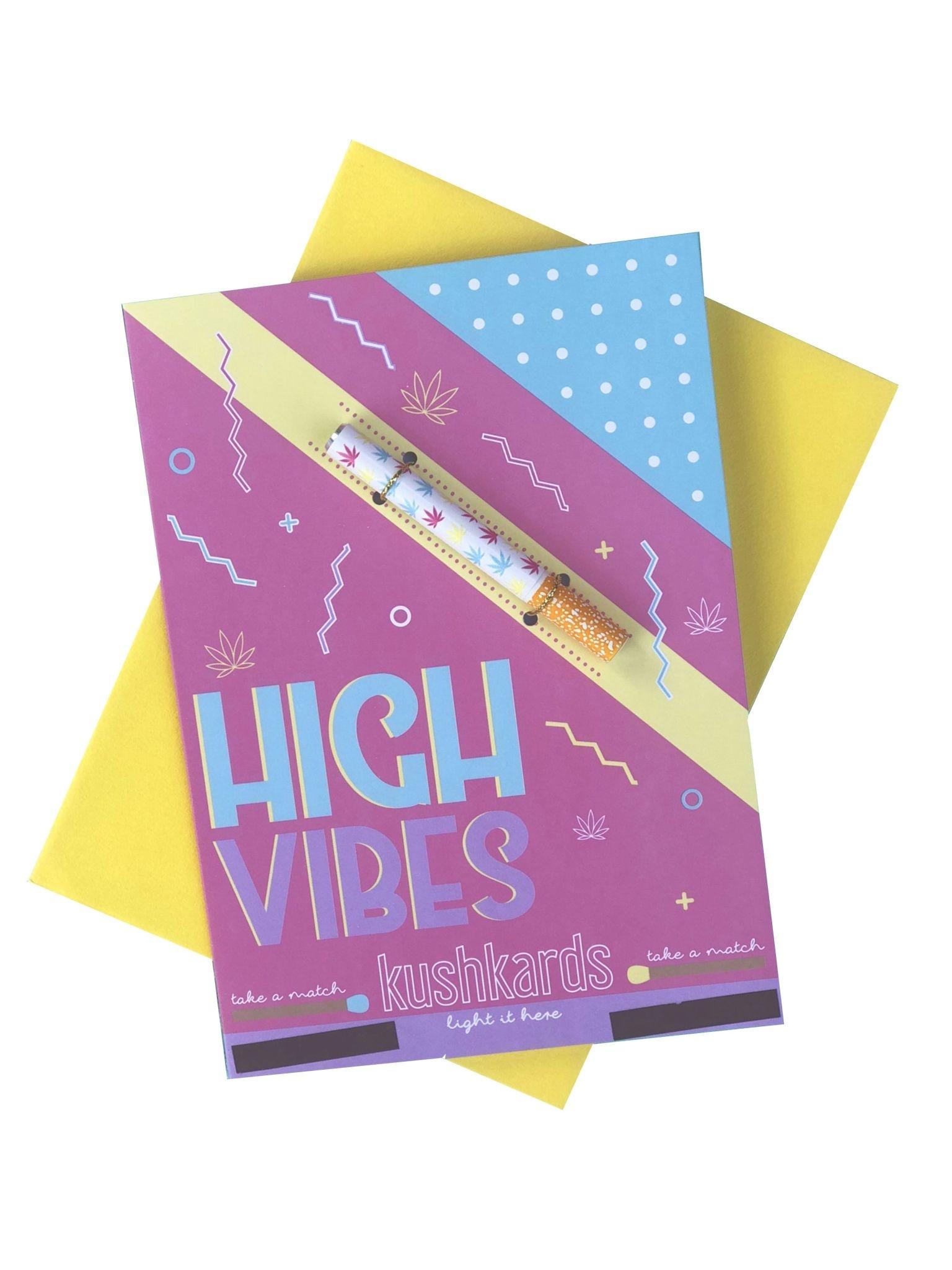 KushKard High Vibes Card + One Hitter
