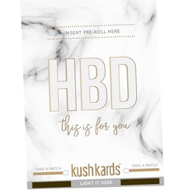 KushKard HBD This is For You Card + One Hitter