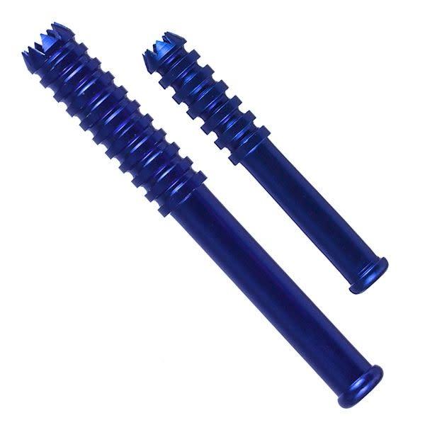 Large Anodized Metal Bat Blue