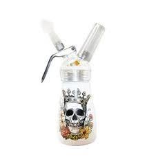 1/2 Pint Aluminum Dispenser Skull King