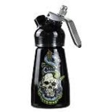 1/2 Pint Aluminum Dispenser Skull & Snakes