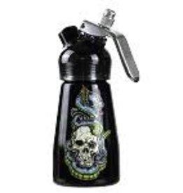 1/2 Pint Aluminum Dispenser Skull & Snakes