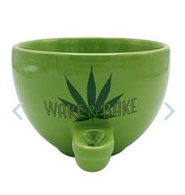 Wake & Bake Ceramic Cereal Bowl Pipe