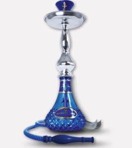 """15"""" Khanjar Shockwave Blue Sahara Hookah"""