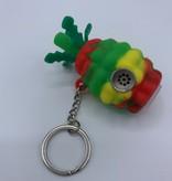 ATX Silicone Pineapple Spoon Keychain