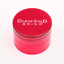 DIAMOND GRIND 4pc 75mm Red