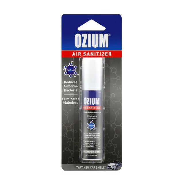 Ozium Air Sanitizer New Car 0.8oz
