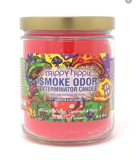 SMOKE ODOR Candle Trippy Hippie