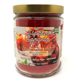 SMOKE ODOR Candle Sippin' Sangria