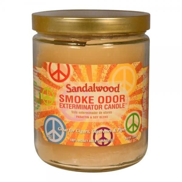 SMOKE ODOR Candle Sandalwood