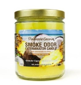 SMOKE ODOR Candle Pineapple Coconut