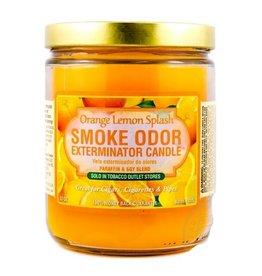 SMOKE ODOR Candle Orange Lemon Splash