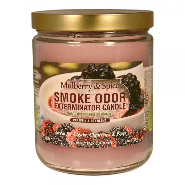 SMOKE ODOR Candle Mulberry & Spice