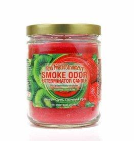 SMOKE ODOR Candle Kiwi Twisted Strawberry
