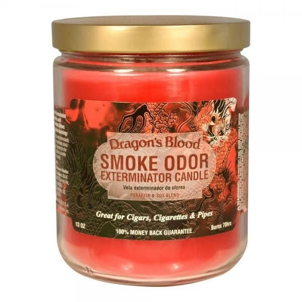 SMOKE ODOR Candle Dragon's Blood