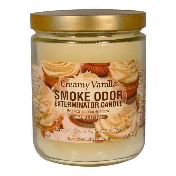SMOKE ODOR Candle Creamy Vanilla