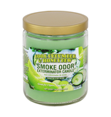 SMOKE ODOR Candle Cool Cucumber & Honeydew