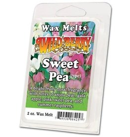 Wild Berry Wax Melts Sweet Pea