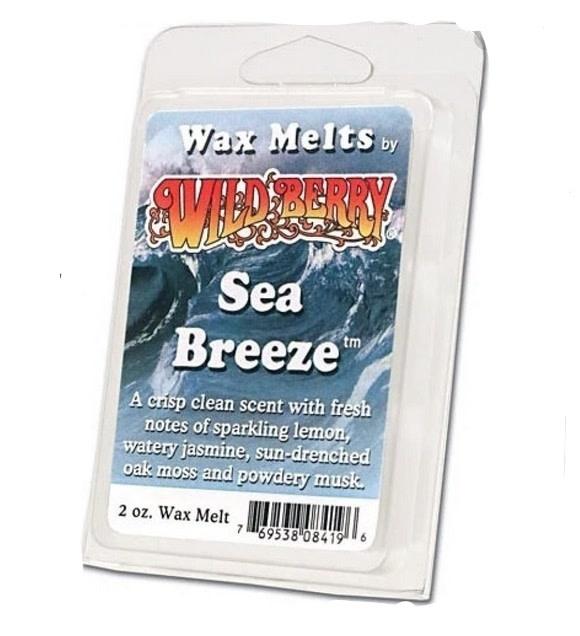 Wild Berry Wax Melts Sea Breeze