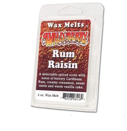 Wild Berry Wax Melts Rum Raisin
