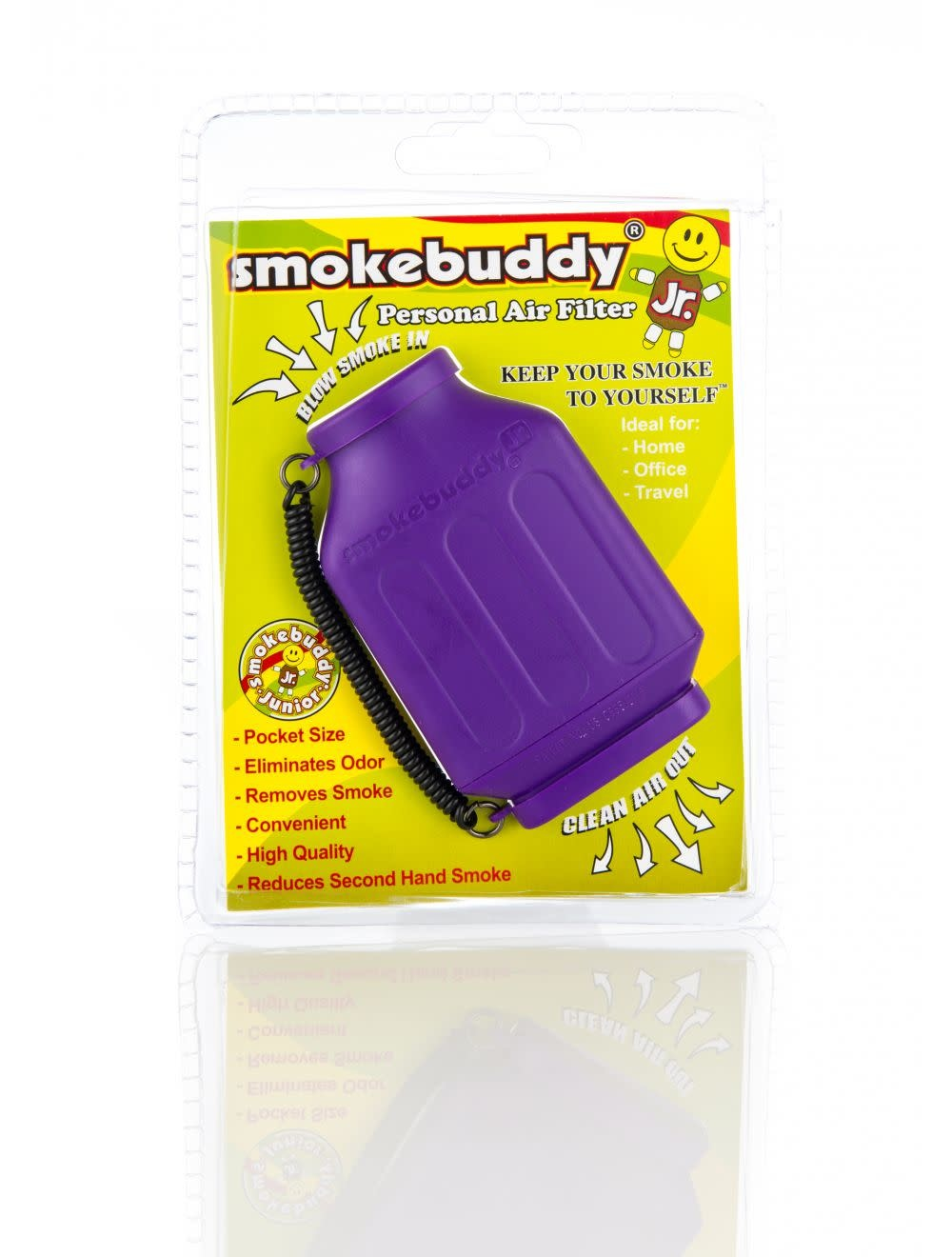 Smoke Buddy Junior Purple