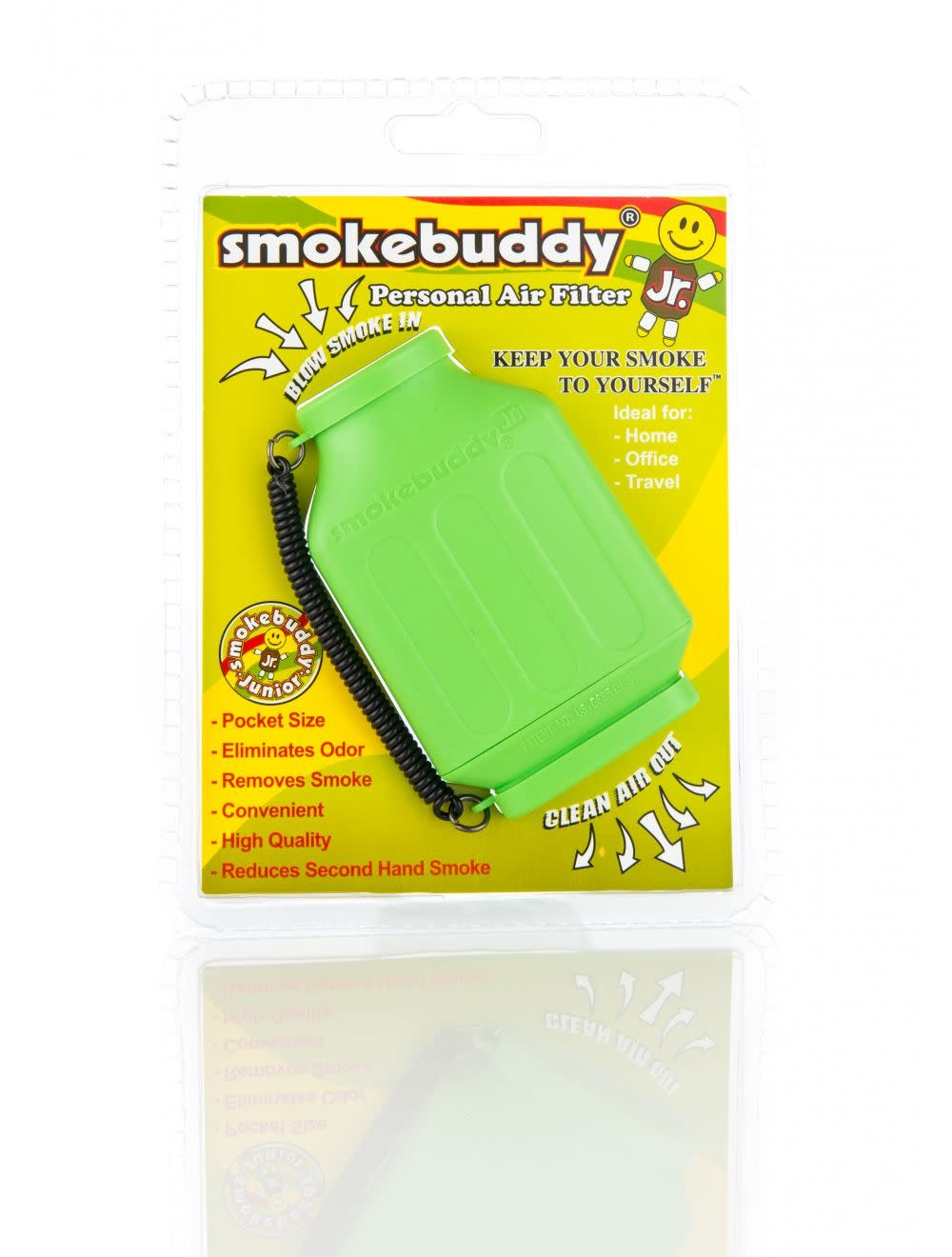 Smoke Buddy Junior Lime Green