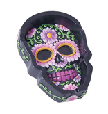 Fujima Floral Skull Ashtray