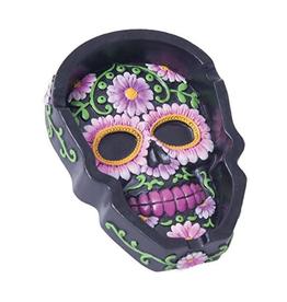 Fujima Floral Skull Ashtray