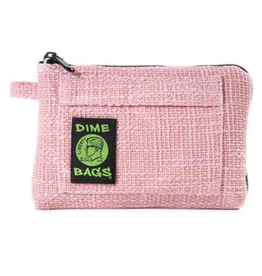 """Dime Bags 8"""" Padded Pouch Pink"""