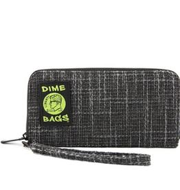 Dime Bags Club Wristlet Black