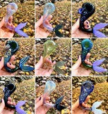 GLASS SAILS Mermaid Tail Hand Pipe