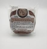 1/2 Baked Brownie