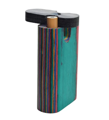 Multi Color Wood Large Dugout