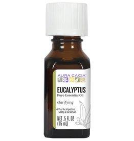 AURA CACIA Eucalyptus Essential Oil 0.5 fl. oz.
