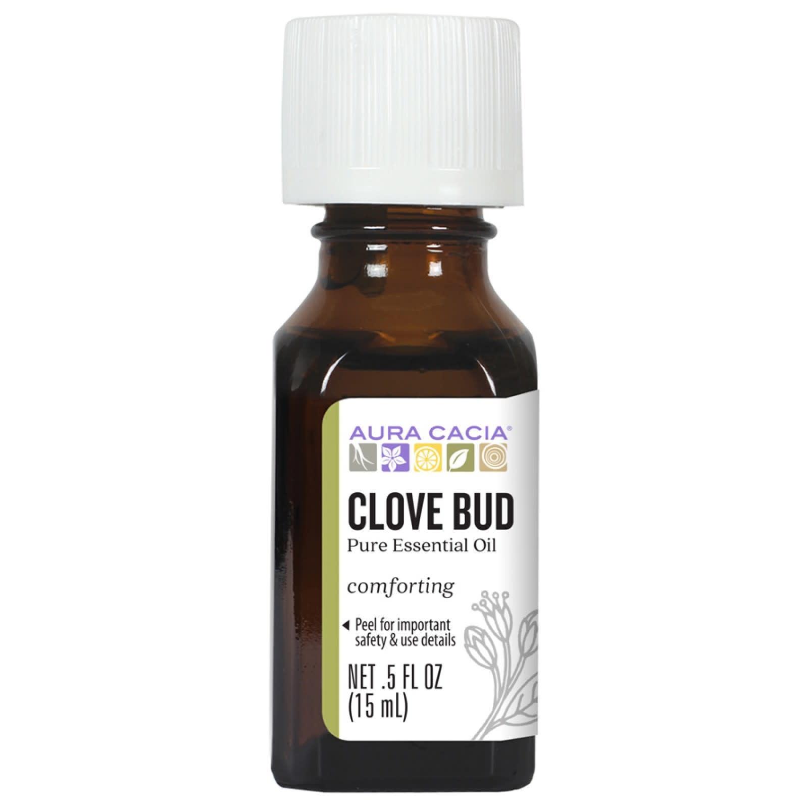 AURA CACIA Clove Bud Essential Oil 0.5 fl. oz.
